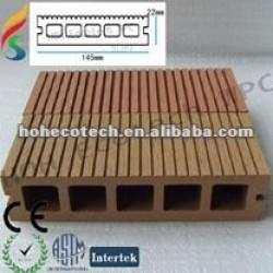 Plancher composé de meilleur de la qualité WPC de decking decking composé favorable à l'environnement de plancher
