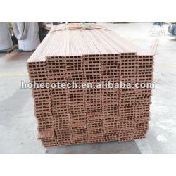 plancher extérieur composé en plastique en bois de vente chaude durable (preuve de l'eau, résistance UV, résistance à se décomposer et fente)