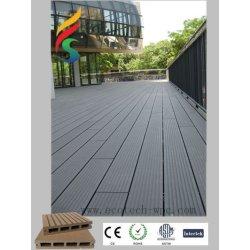 Plancher composé en plastique avec le système de couplage