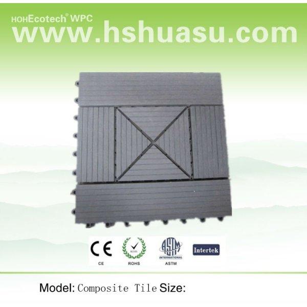 Compuesto de madera - de plástico azulejo de piso