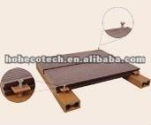 Le meilleur ! poutrelle respectueuse de l'environnement de decking de wpc (preuve de l'eau, résistance UV, résistance à se décomposer et fente)