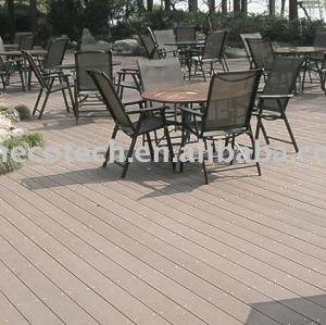 WPC Flooring For Garden using