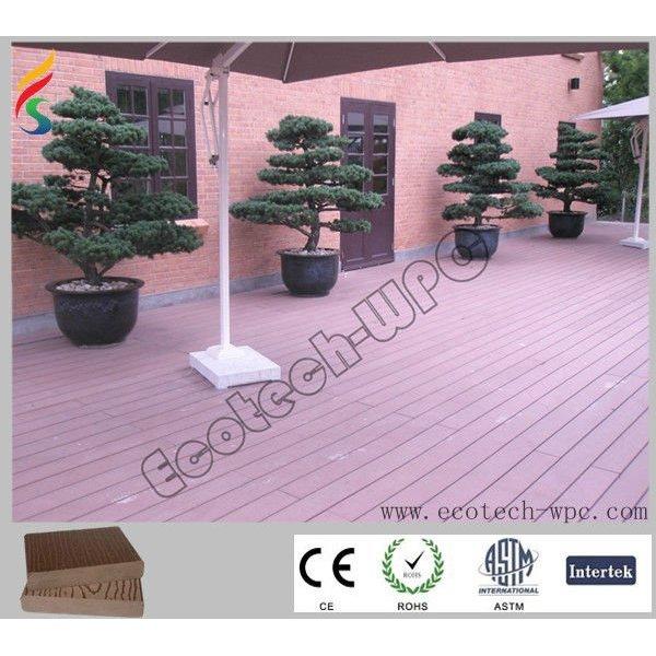 Zusammengesetzter Plastikfußboden des Holz-2012 mit Qualität
