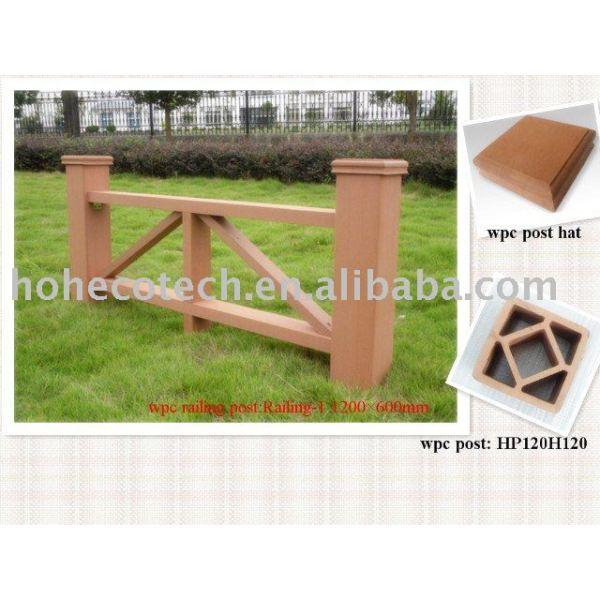 compuesto plástico de madera post