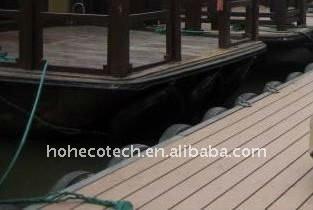 PLANCHER en bois de /flooring de Decking du plancher WPC de ~laminate de plancher/en bambou composé en plastique en bois de composition