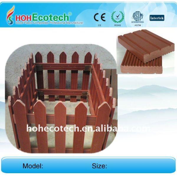 legno plastica scherma composito