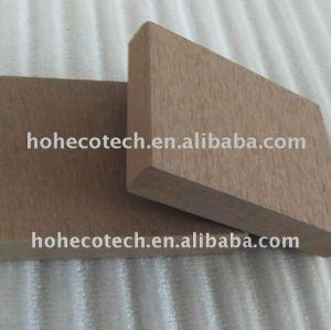 decking de 150*25mm 150*30mm WPC/plancher synthétiques composés en plastique en bois (CE, ROHS, ASTM, Intertek)