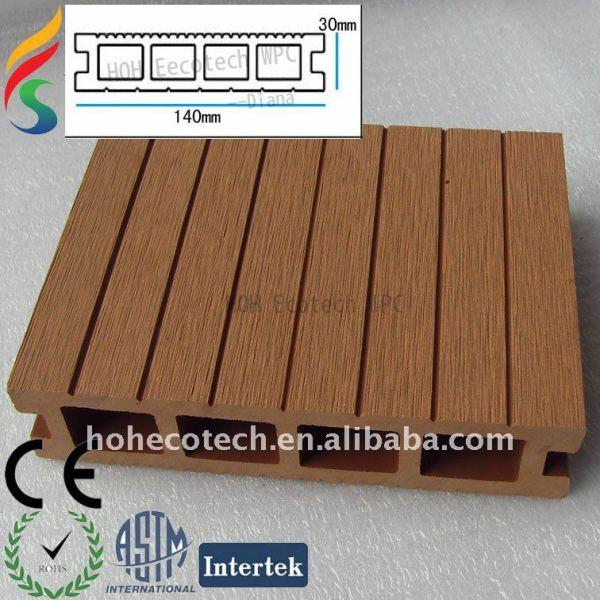 Wpc hueco junta 140x30mm - madera