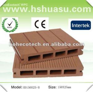 panneau composé en plastique en bois de decking des prix 2012 concurrentiels (CE ROHS)