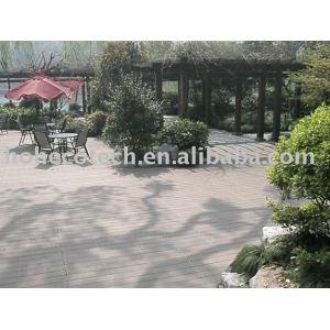 WPC(Wood Plastic Composites) Flooring For Garden using