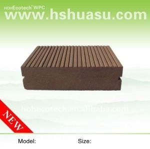 Decking composé en plastique en bois extérieur composé des meubles WPC des matériaux de construction WPC/decking en bois composé de plancher