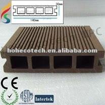 le decking de wpc/a qualifié la plate-forme composée en plastique en bois