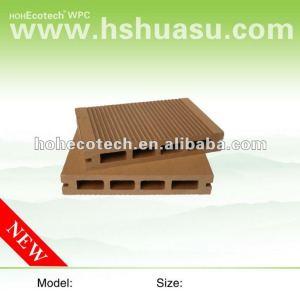 La langue et la cannelure du decking 150x25mm de wpc de HOH Ecotech embarquent la plate-forme de composé de WPC