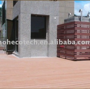 recycled wood/plastic composite lumber