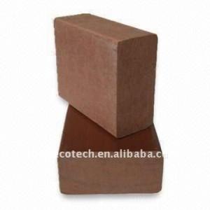 Barandilla de la cubierta/pasamanos de la escalera de madera de materiales compuestos de plástico esgrima wpc barandilla wpc esgrima