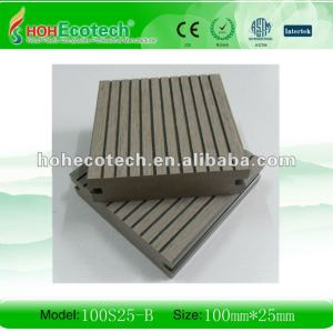 Wpc platelage extérieur ( iso9001, iso14001, rohs, ce )
