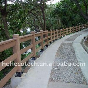 Weatherproof WPC composite fencing/railing outdoor railing WPC fence composite railing