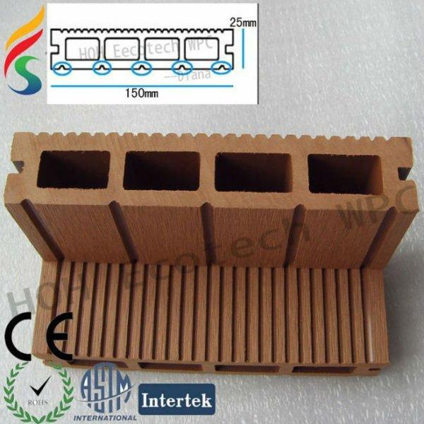 fácil instalación compuesto de la cubierta tableros