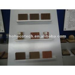 Durable eco - ambiente al aire libre del wpc azulejo de piso ( a prueba de agua, resistencia a rayos uv, resistencia a la pudrición y el crack )