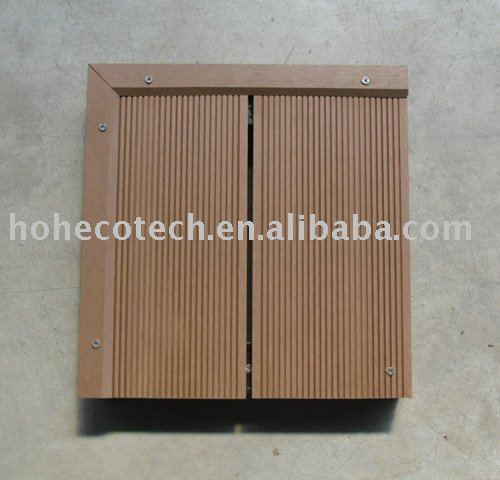 plancher Huasu WPC de jardin