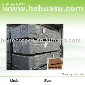 Plancher de WPC--emballage
