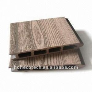 (CE, ROHS, ASTM, ISO9001, ISO14001, Intertek) Decking en bois de composé de plancher de Decking de wpc de plancher composé en plastique en bois de decking