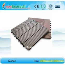 Wpc wpc titolo non - slip, usura - resistente esterno pavimenti in piastrelle