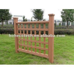 Aspetto naturale ( in legno composito di plastica ) wpc composito ringhiera delle scale/ringhiera giardino/ringhiera parco giochi