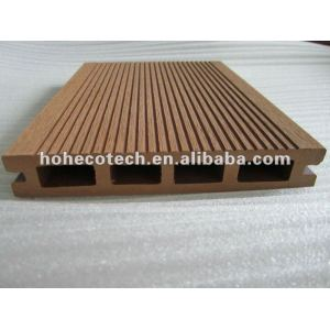 Wpc Decking-/Bodenbelagplanken, hölzerner zusammengesetzter Plastikdecking, wpc Bodenbelag