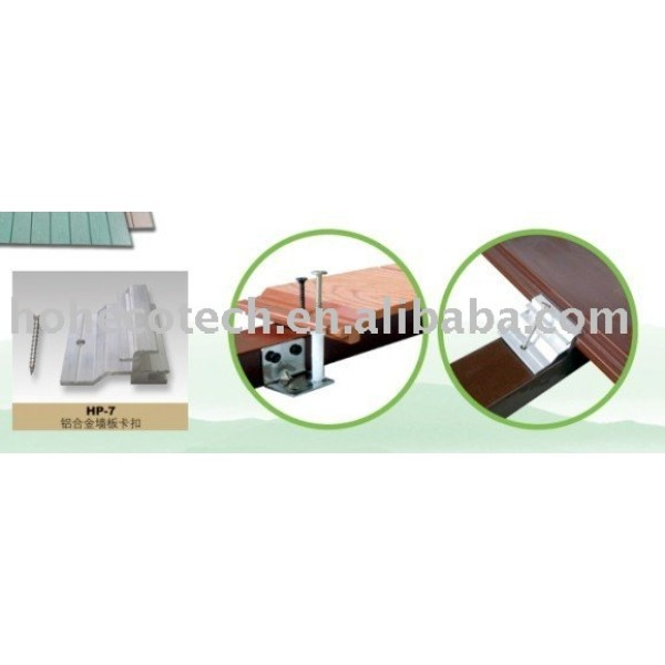 wpc Wand Installationsmethode
