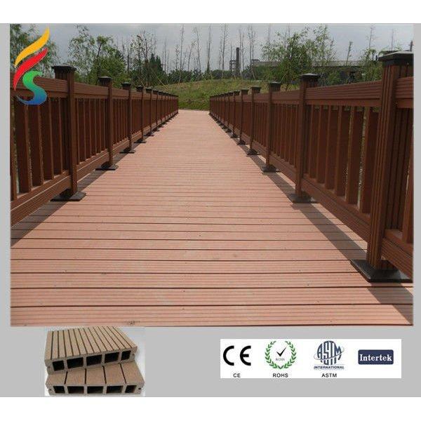decking composé en bambou extérieur