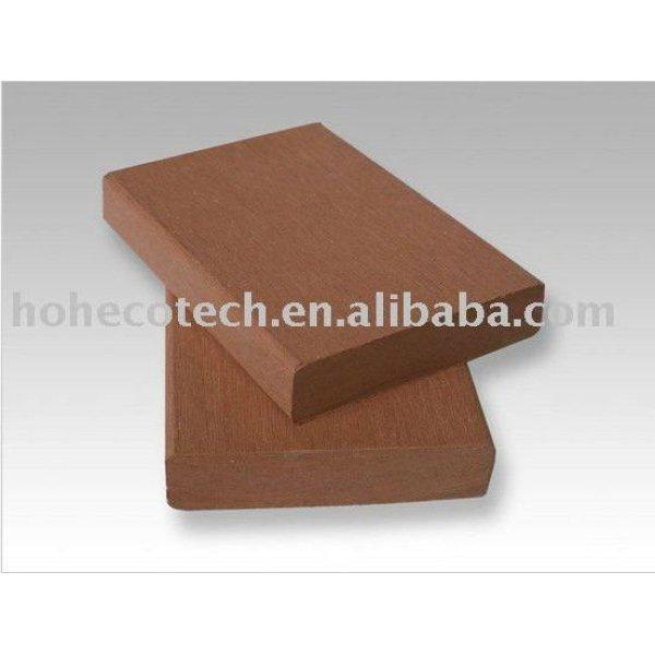 matériel de clôture composé en plastique en bois de vente chaude durable (preuve de l'eau, résistance UV, résistance à se décomposer et fente)