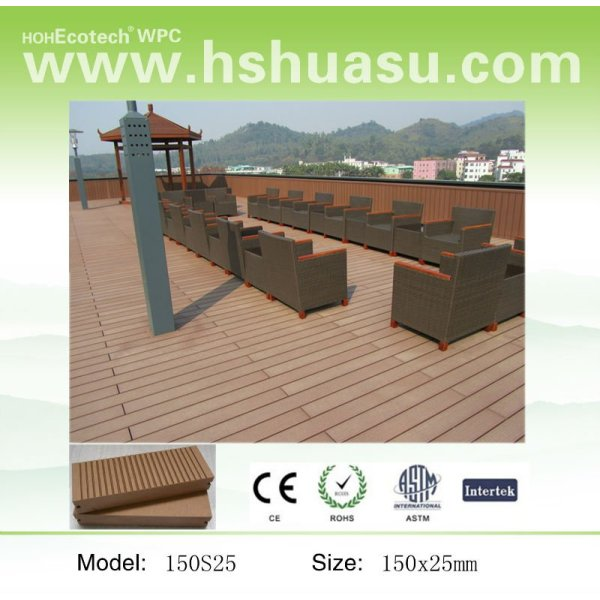 BESTER VERKAUFENDER zusammengesetzter Decking gut für Balkon-Aufbau
