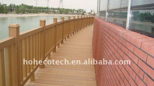Decking de WPC/plate-forme en bois wpc de plancher (CE, ROHS, ASTM, OIN 9001, OIN 14001, Intertek)