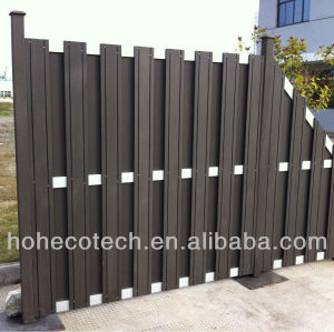 decorative wooden fence wood plastic composite decking/floor