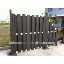 decorative wooden fence wood plastic composite decking/floor