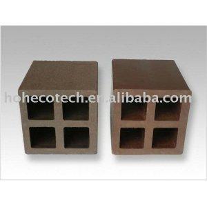 Durable caliente de la venta de madera compuesto de plástico accesorio de esgrima ( a prueba de agua, resistencia a rayos uv, resistencia a la pudrición y el crack )