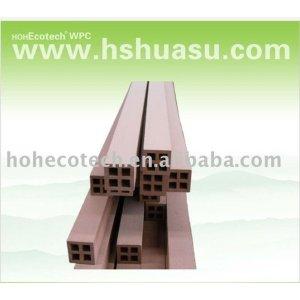 accesorio de cercado compuesto plástico de madera de la venta caliente durable (prueba del agua, resistencia ULTRAVIOLETA, resistencia a descomponerse y grieta)