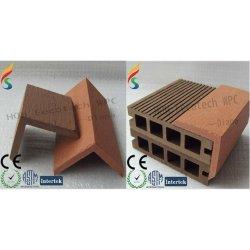 耐久の熱い販売の木製のプラスチック合成のdeckingの付属品(水証拠、紫外線抵抗、抵抗腐敗するおよびひび)