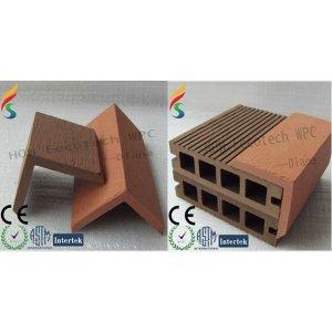 Durable caliente de la venta de madera decking compuesto plástico accesorio ( a prueba de agua, resistencia a rayos uv, resistencia a la pudrición y el crack )