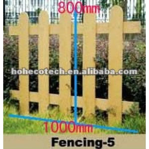 1000*800mm wasserdichtes wpc im Freienzaun/zusammengesetztes Fechten