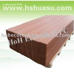 como madera decking del wpc piso compuesto de piso