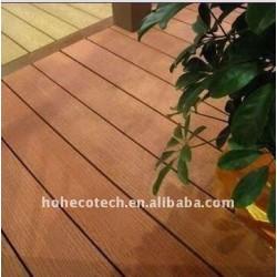 le nouveau MATÉRIEL DÉCORENT le decking/plancher composés en plastique en bois du decking WPC