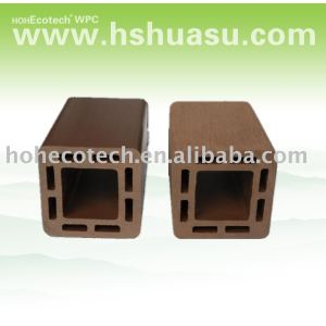 Wood plastic composite esgrima post