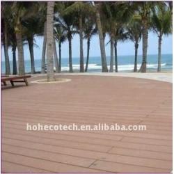 GAREZ le decking/plancher composés en plastique en bois du decking WPC de DÉCORATION