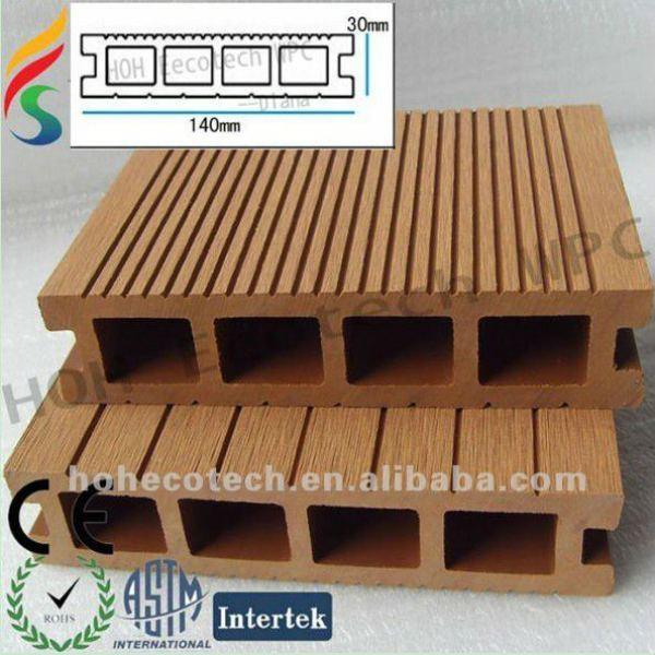 Eco- ambiente terrazas al aire libre suministro de madera productos de plástico