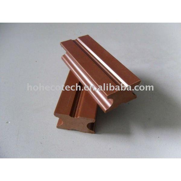 poutrelle pleine composée en plastique en bois