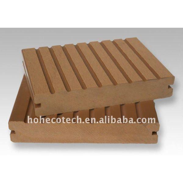ecológica del pe madera decking compuesto