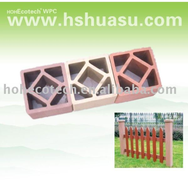 wpc hölzerner Plastikpfosten der zusammensetzung fencing/.railing
