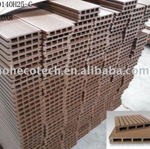 Le bois aiment le decking de WPC--ISO14001